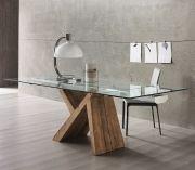 E se ti dicessi che esiste un tavolo dall'eleganza sorprendente? Kappa, il tavolo allungabile in legno antico e vetro Su www.italianArredo.it: lo trovi in Tavoli con struttura in legno ;)
