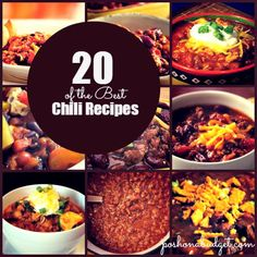 20 of  the Best Chili #Recipes @poshonabudget