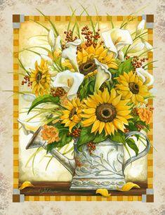 http://www.porterfieldsfineart.com/JanetStever/sunflowersandcallas.htm