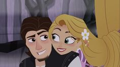 Disney Rapunzel, Tangled Rapunzel, Princess Rapunzel, Disney Wiki, Disney And Dreamworks, Disney Pixar, Disney Couples, Disney Love, Rapunzel And Eugene