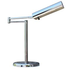 Nessen Desk Lamp   From a unique collection of antique and modern table lamps at https://www.1stdibs.com/furniture/lighting/table-lamps/
