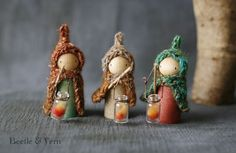Lantern children by Beetle & Fern.
