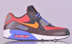 Nike Air Max 90 Winter Red Clay