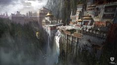 #Gompa is concept art for the game #Uncharted 2: Among Thieves and has been made by concept artist #JamesPaick for studio #NaughtyDog. This limited edition print is part of the official 2014 Uncharted fine art print collection that covers the first three games of the Uncharted series. James Paick has signed this image digitally but the Certificate of Authenticity that goes with this print is authenticated by the studio as the artist is no longer with Naughty Dog. #AmongThieves