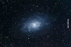 My first photo of the Triangulum galaxy, which is around 3 million light years away from us - 9GAG