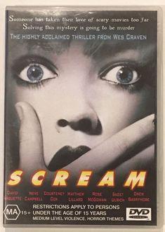 Scream DVD