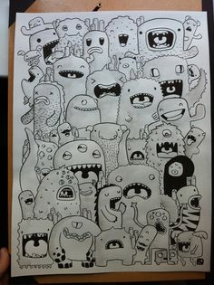 DRAWING MONSTERS on Behance