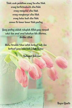 Kata Reminder Quotes, Self Reminder, Art Quotes, Life Quotes, Inspirational Quotes, Cinta Quotes, Spirit Quotes, Islamic Quotes Wallpaper, Beautiful Islamic Quotes
