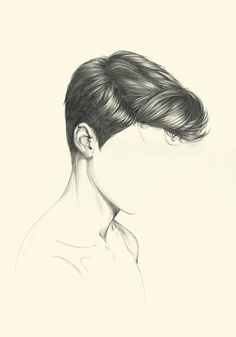 Boy Hair Drawing, Male Face Drawing, Guy Drawing, Drawing People, Drawing Sketches, Painting & Drawing, Drawing Ideas, Graphite Drawings, Pencil Drawings