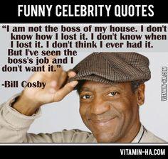 Funny celeb quotes