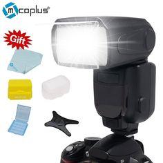buy mcoplus tr 950 lcd flash universal mount speedlite for canon nikon pentax olympus dslr camera d7100 #olympus #cameras