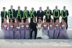 Me encanta, para mandar despues del casamiento!