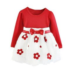 Newborn Girl My Birthday Dresses Dress For Baby Girl Winter New Brand Party Gown Floral Baby Kids Costume Vestido Infantil Baby Outfits, Casual Outfits, Casual Clothes, Cute Dresses, Girls Dresses, Cheap Dresses, 1st Birthday Dresses, Birthday Parties, Toddler Girl Dresses