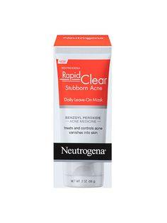 Neutrogena Rapid Clear Stubborn Acne Daily Leave-On Mask | allure.com