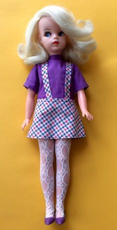SINDY 1968 NEW LOOK SIDEPART ALL ORIGINAL CLOTHES GOrGEOUS & RARE    eBay
