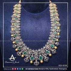 Gold Ornaments, Latest Jewellery, Diamond Jewellery, Instagram Accounts, Indian Jewelry, Jewelery, Aqua, Layers, Traditional