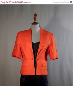 MOTHERS DAY Cutting Jacket perfect classic by VintageByElena