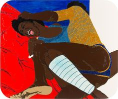Mickalene Thomas, I Gotta Get Away (from My Own Self), 2006 on Paddle8