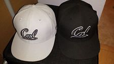2 New Era Cal California Bears Berkeley 59FIFTY Fitted Cap Hat 7 1/2 - Nike lot