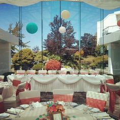 Inn at Laurel Point with decor by DetailsBC - Vancouver Island Wedding - Victoria BC Wedding