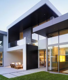 3 External Materials Modern Interior Design, Home Exterior Design, Home  Design, Modern House