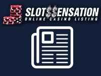 An online casino listing with casino reviews and slot games.