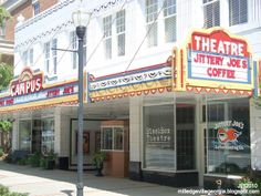 Georgia College & State University, Black Box Theatre, Milledgeville Georgia Jittery Joe's Coffee Roasting Shop