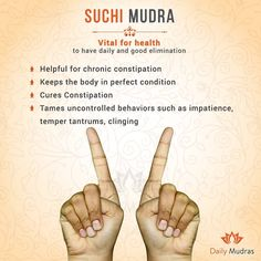 Vital for health to have daily and good elimination #mudras #dailymudras #vitl #health #good #elimination #chronic #constipation #body…