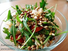 Seaweed Salad, Green Beans, Chicken, Vegetables, Cooking, Ethnic Recipes, Bob, Diet, Salad