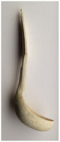 Simon Hill Green Wood Carving: Holly ladle