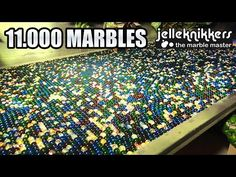 Watching 11,000 Marbles Go Down A Marble Run At The Same Time Is Immensely Satisfying - Digg