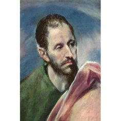 """East Urban Home 'St. James the Less' by El Greco Painting Print on Wrapped Canvas Size: 40"""" H x 26"""" W x 1.5"""" D"""