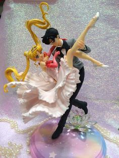 Sailor Moon Batman Cake Topper