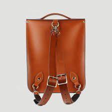 Resultado de imagem para leather backpack