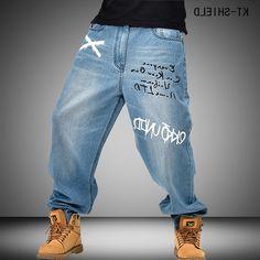 33.60$  Buy now - https://alitems.com/g/1e8d114494b01f4c715516525dc3e8/?i=5&ulp=https%3A%2F%2Fwww.aliexpress.com%2Fitem%2Ffamous-brand-men-Hip-Hop-Mens-Baggy-moto-jeans-Pants-Denim-Printed-biker-jeans-Trousers-Mens%2F32741180083.html - famous brand men Hip Hop Mens Baggy moto jeans Pants Denim Printed biker jeans Trousers Mens Skateboard Pants Plus Size 30-46  33.60$