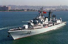 Harbin (112) - Type 052 Luhu class Destroyer (China)