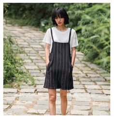 Street Fashion Drawstring Striped Tie Pants