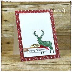 Bada-Bing! Paper-Crafting!: Merry Patterns Cards - Stampin' Up Artisan Design Team Blog Hop