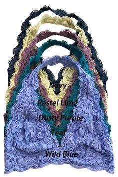 f0e84b4298 Hush Hush Racerback Lace Bralette - Sage