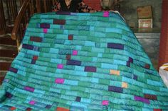 peacock quilt | Purkal Stree Shakti - Beautiful Handmade Quilts, Bags and Kitchen ...
