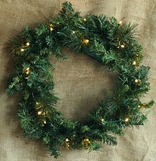 Check out the deal on Battery Operated 24 Inch Palmer Pine Wreath with Multi FunctionTimer at Battery Operated Candles