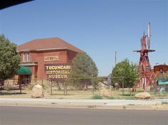 The Tucumcari Historical Museum is in a former schoolhouse dating from 1903, which fits since it's a museum of history. Plenty of artifacts ...