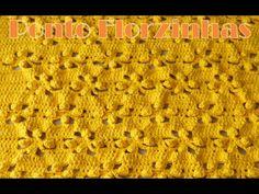 Crochê - Ponto Florzinhas - YouTube