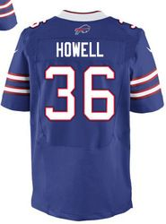 "$78.00--Delano Howell Jersey - Elite Blue Home Nike Stitched Buffalo Bills #36 Jersey,Free Shipping! Buy it now:click on the picture, than click on ""visit aliexpress.com"" In the new page."