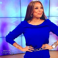 How YOU doin'? Did you catch the Wendy William show today? Just another close up of Wendy looking fiercely chic in our Golden Arch cuff bracelet. http://bit.ly/1GHlftw