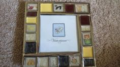 NWT-Adorable-Stained-Glass-Cats-Kittens-Picture-Frame