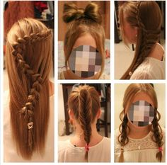 Braids for prom, wedding, dailylife