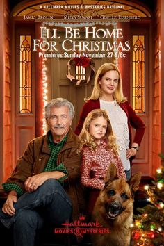 Directed by James Brolin. With James Brolin, Mena Suvari, Giselle Eisenberg, John Reardon. Jackie Foster (Suvari), is a dynamic Assistant District Attorney and single mom. But when Jackie's estranged dad, Jack (Brolin), a gruff retired police officer, unexpectedly shows up at her door, they will be forced to confront old wounds.  I'll be home for Christmas