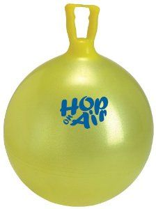 "Amazon.com: Gymnic / Hop On Air 18"" Hop Ball: Toys & Games"
