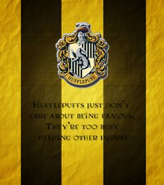 I have a bad feeling that I'd be in Hufflepuff...